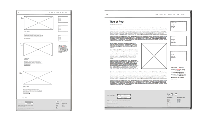 wireframes images
